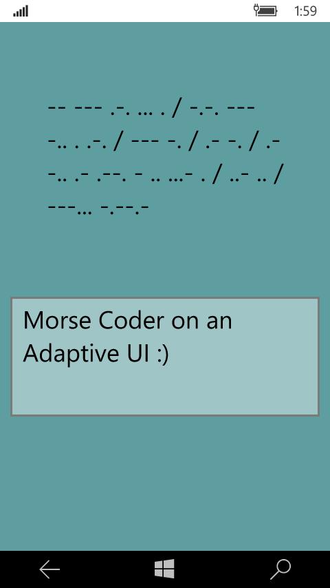 Adaptive Phone