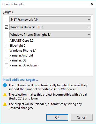 Windows 10 Target