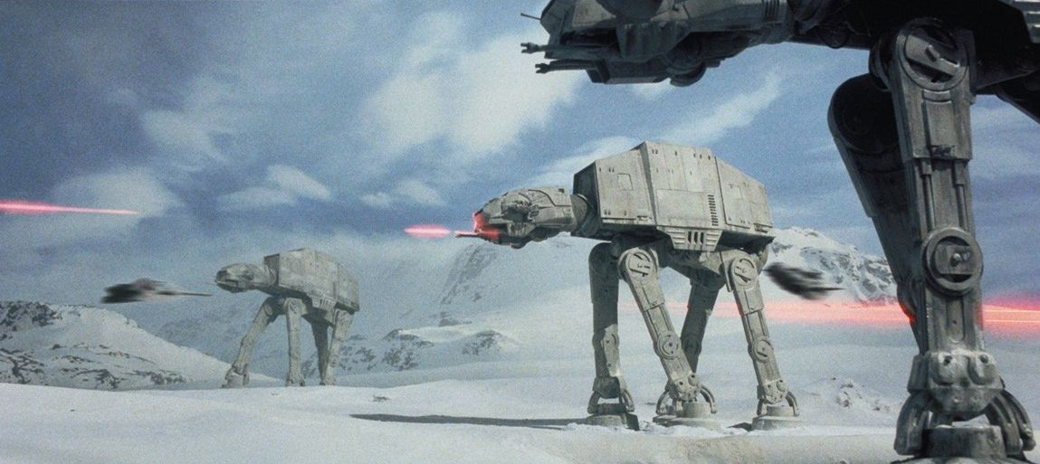 Ice Battle On Hoth